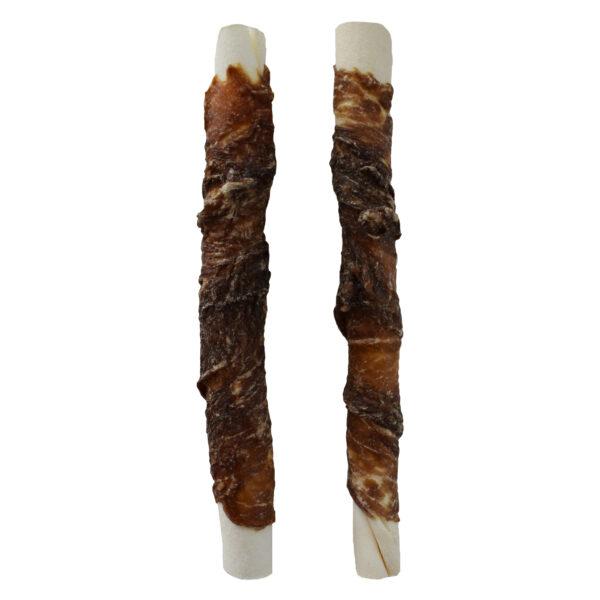Runderhuid stick centraal omwikkeld met rundvlees 12,5 cm