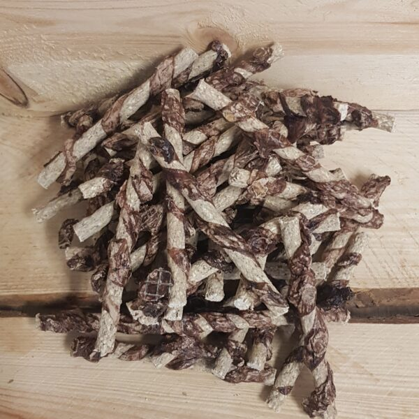 Dunne Munchy stick omwikkeld met long 12,5 cm