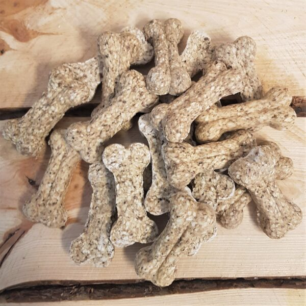 Munchy Bone met Runderlong 9 cm