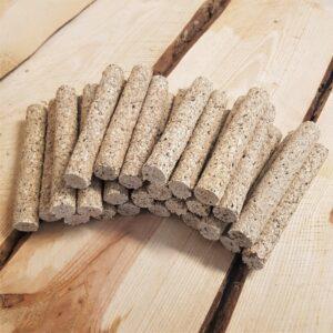 25 stuks voordeelbundel | Munchy Stick met lever 12,5 cm